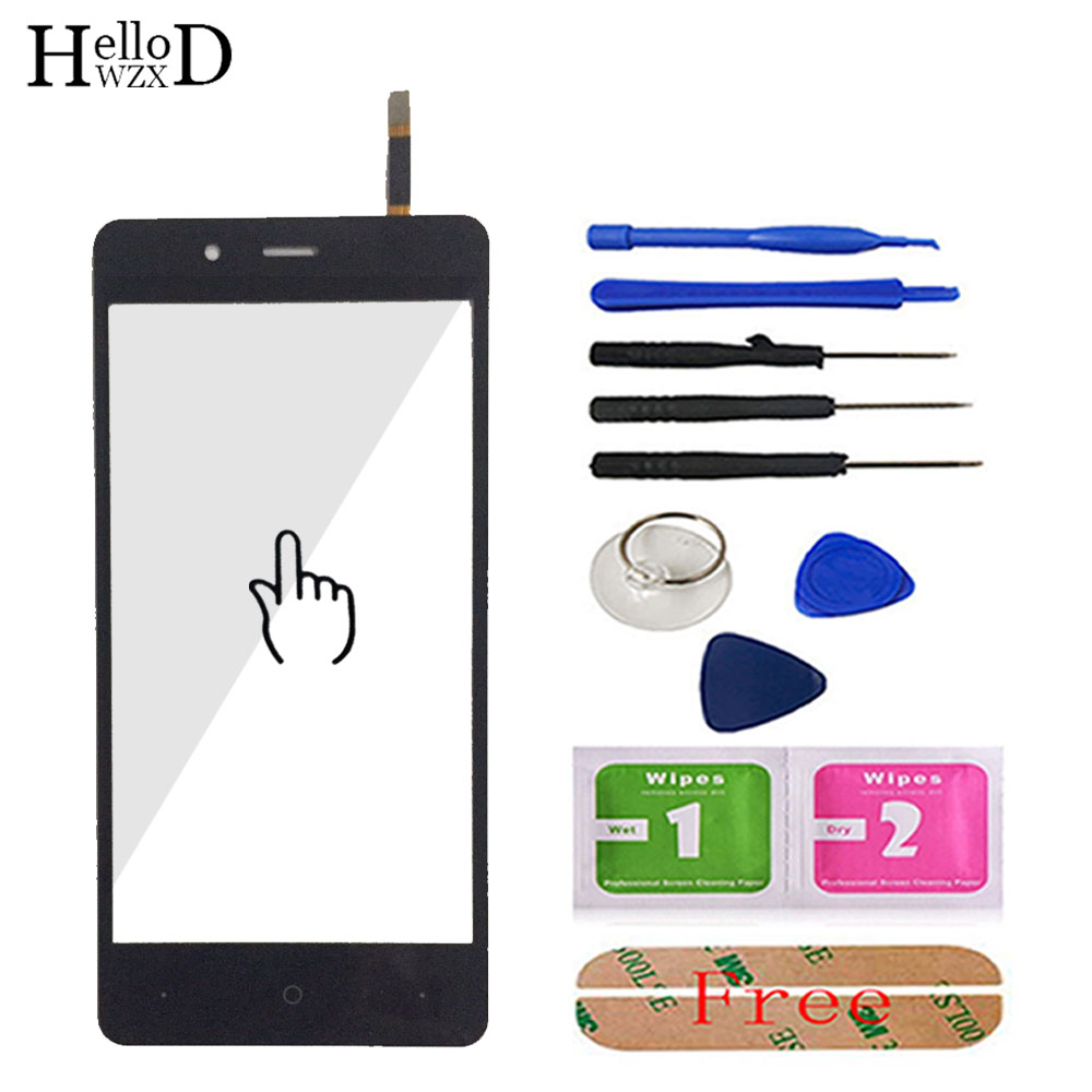 4.7'' Mobile For Highscreen Ice 2 Ice2 Touch Screen Glass Front Outer Glass Digitizer Panel Lens Sensor Flex Cable Tool Adhesive