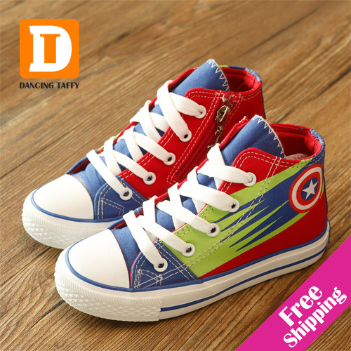 New 2015 Fashion Children Shoes America Captain Ki...