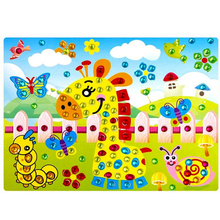 2Pcs Lot DIY Crystal Diamond Stickers Paste Painting Puzzle Toy Kids Handmade Handcraft Animal Plant Pattern
