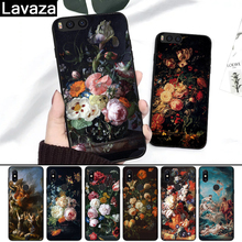 Lavaza painting flower Butterfly In a Vase Art Silicone Case for Xiaomi Redmi 4A 4X 5A 5 Plus 6 6A Note 4 Pro 7 8 k20 Prime Go