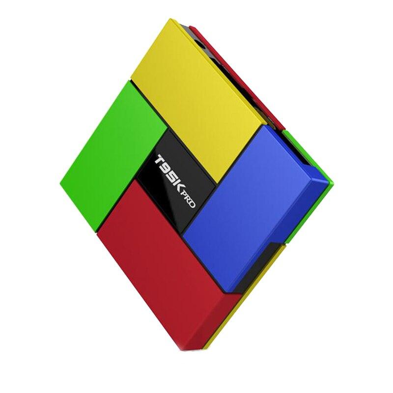 New T95K PRO Gigabit Ethernet Android 6.0 TV Box Kodi Amlogic S912 Octa Core Dual Wifi 2.4G&5.0G Bluetooth4.0 2G/16G LAN 1000M zidoo x6 pro tv box 2g 16g android 5 1 rockchip r3368 wifi bluetooth4 0 1000m ethernet gigabit lan