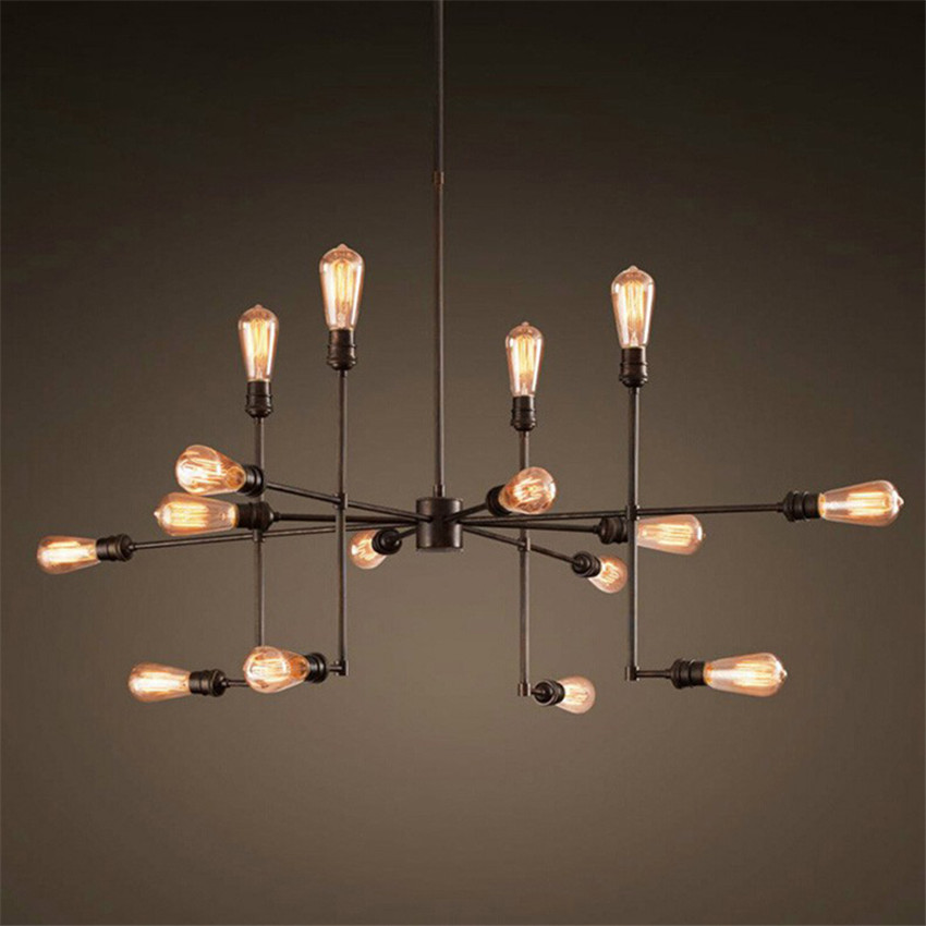 Us 115 89 8 Off Retro Loft Pendant Lights With Edison Lamps Vintage Hanging For Cafe Bar Restaurant Hotel Lamp In
