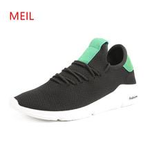 Mens Sneakers Casual Shoes for Men 2018 Brand Rand Flat Mesh Breathable Trainers Chaussure Homme Sport
