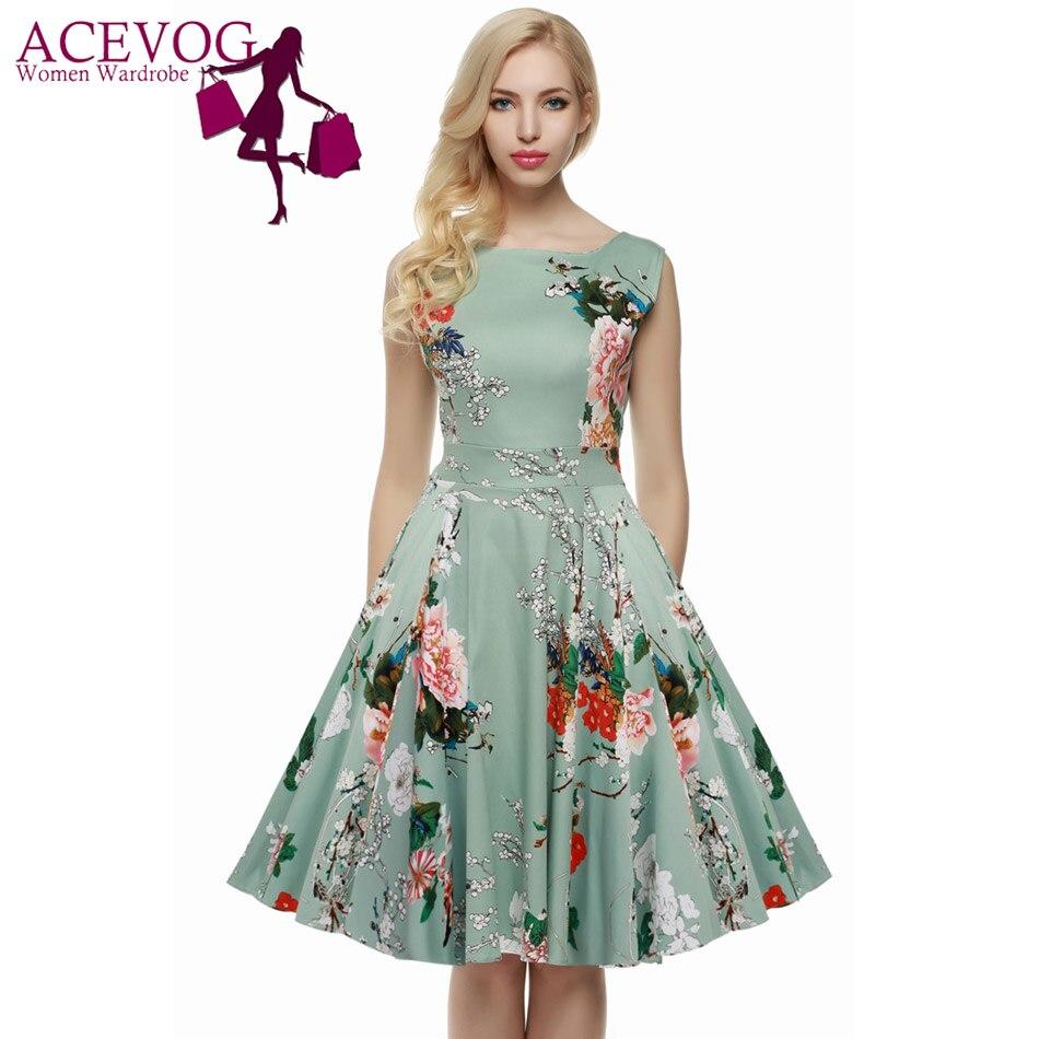 Retro Summer Dresses Reviews - Online Shopping Retro Summer ...