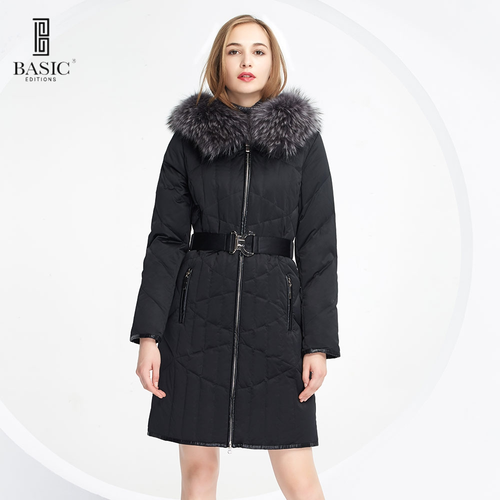Basic-Editions Genuine Brand Fashion new winter jacket parkas for women Down & Parkas - 13W-54