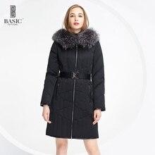 Básica-Ediciones Genuina Marca de Moda nueva chaqueta de invierno parkas para las mujeres Abajo y Abrigos Esquimales-13W-54