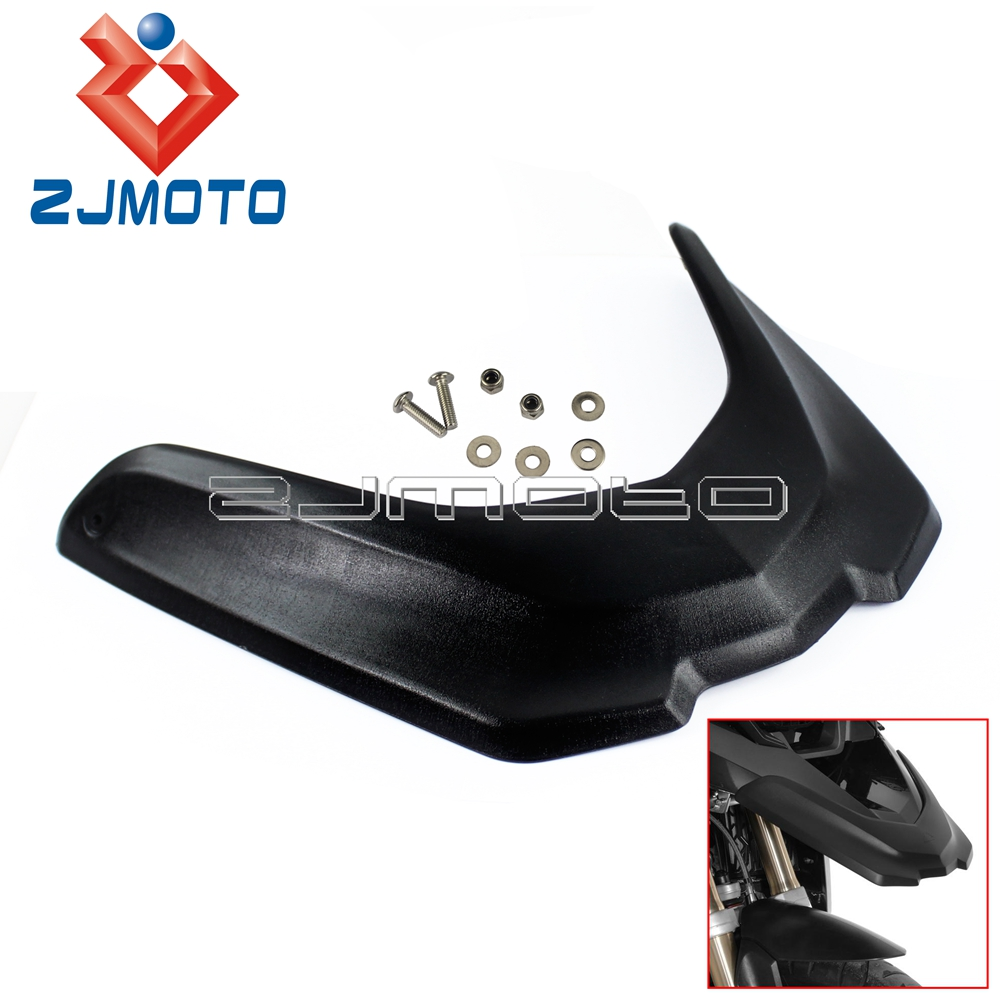 Front Beak Fender Extension Wheel Cover For BMW R1200GS LC Adventure 2013-2016