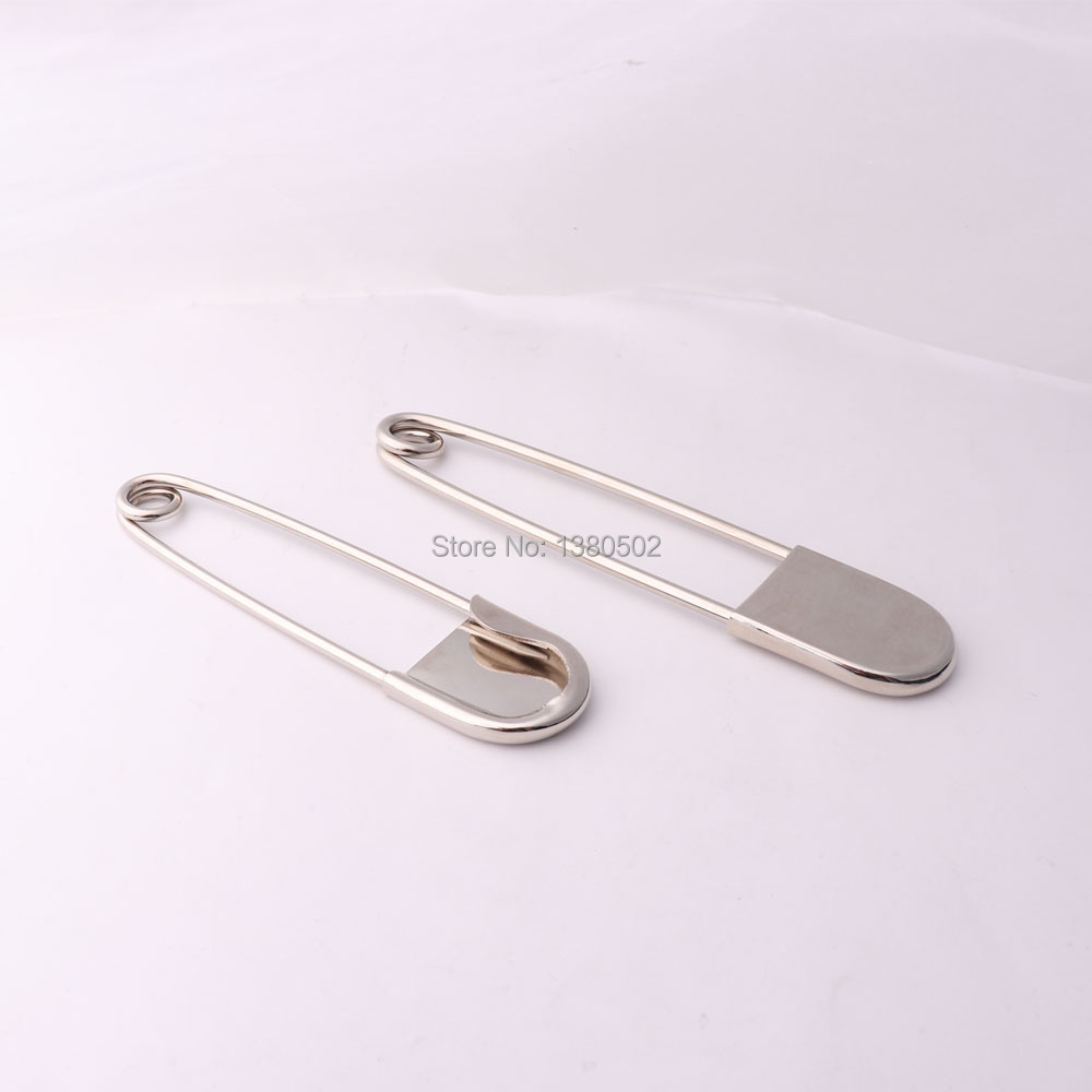 2pcs/lot 10.8/12.5cm large knitting pins metal Safety Pins Sewing tool Brooch for clothes