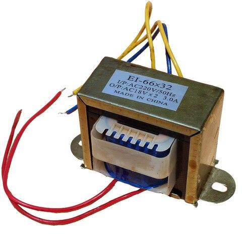 transformador de audio 220 v para unico e duplo 18 v volt output ac3a audio