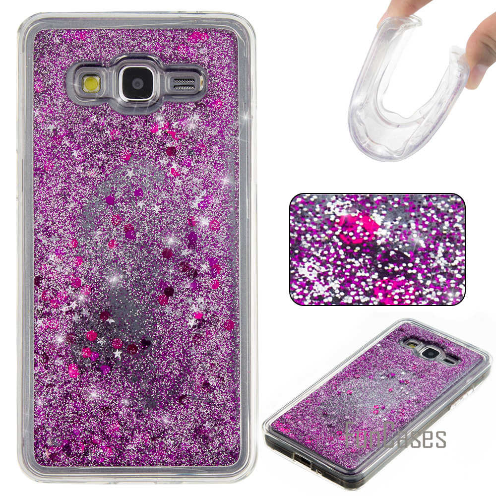 af2dd26a4aa Detail Feedback Questions about G531H Dynamic Liquid Quicksand Case for  fundas Samsung Grand Prime G530 Case for coque Samsung Galaxy Grand Prime  G530 Case ...