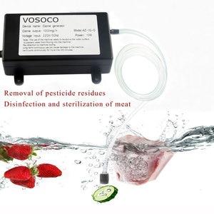 Image 5 - 1000 мг озонатор Портативный озоновый генератор Вода Воздух стерилизовать очиститель фрукты овощи аквариум спа ванна дезинфекция