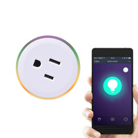 2018 New Scene Light Timing Remote Control WIFI Smart Socket US Plug Wireless Outlet Safety Voice