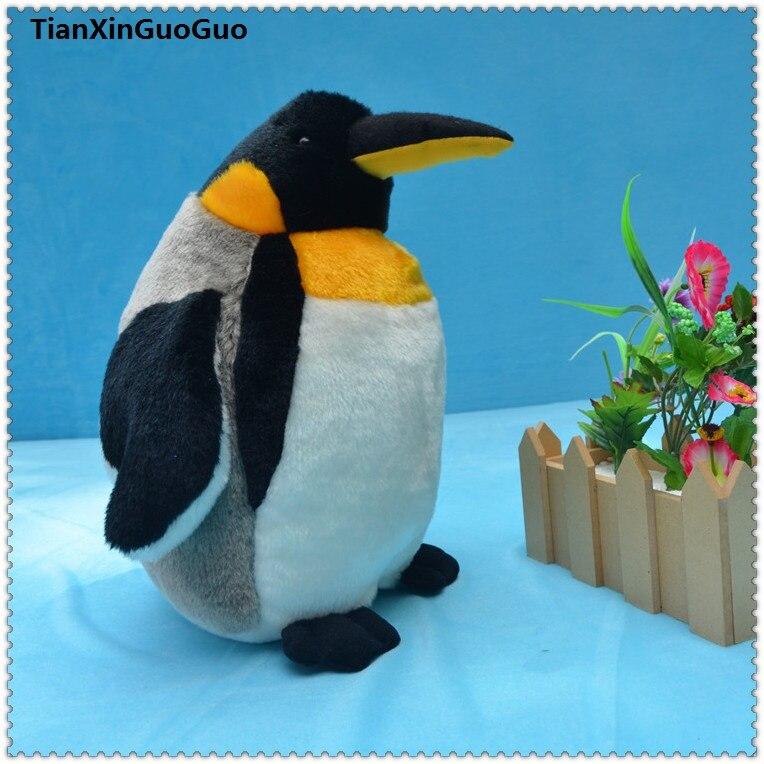 Grand 42 cm dessin animé pingouin en peluche jouet mignon pingouin doux poupée jeter oreiller cadeau d'anniversaire s0099