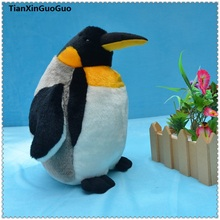 large 42 cm cartoon penguin plush toy cute penguin soft doll throw pillow birthday gift s0099