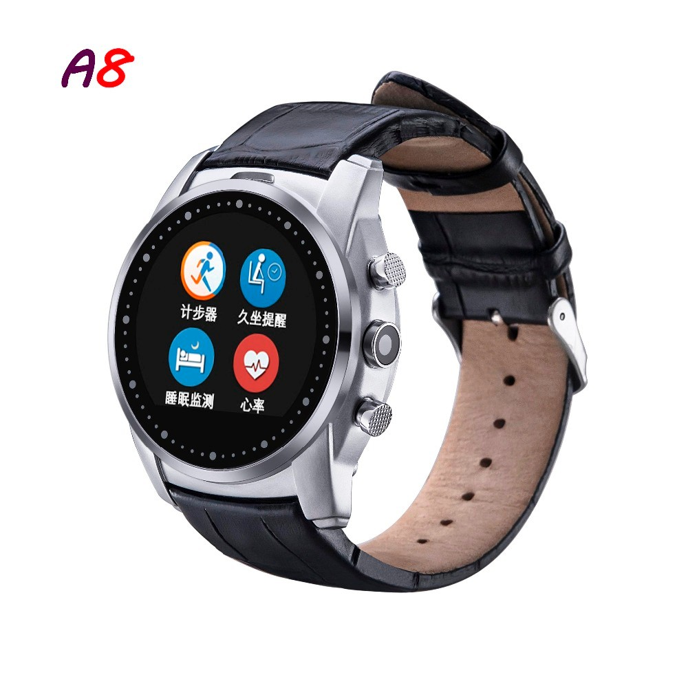 2016-Fashion-Smart-Watch-A8-Support-SIM-Card-Bluetooth-Sim-Watch-Round-Dial-Alloy-Material-Leather (1)