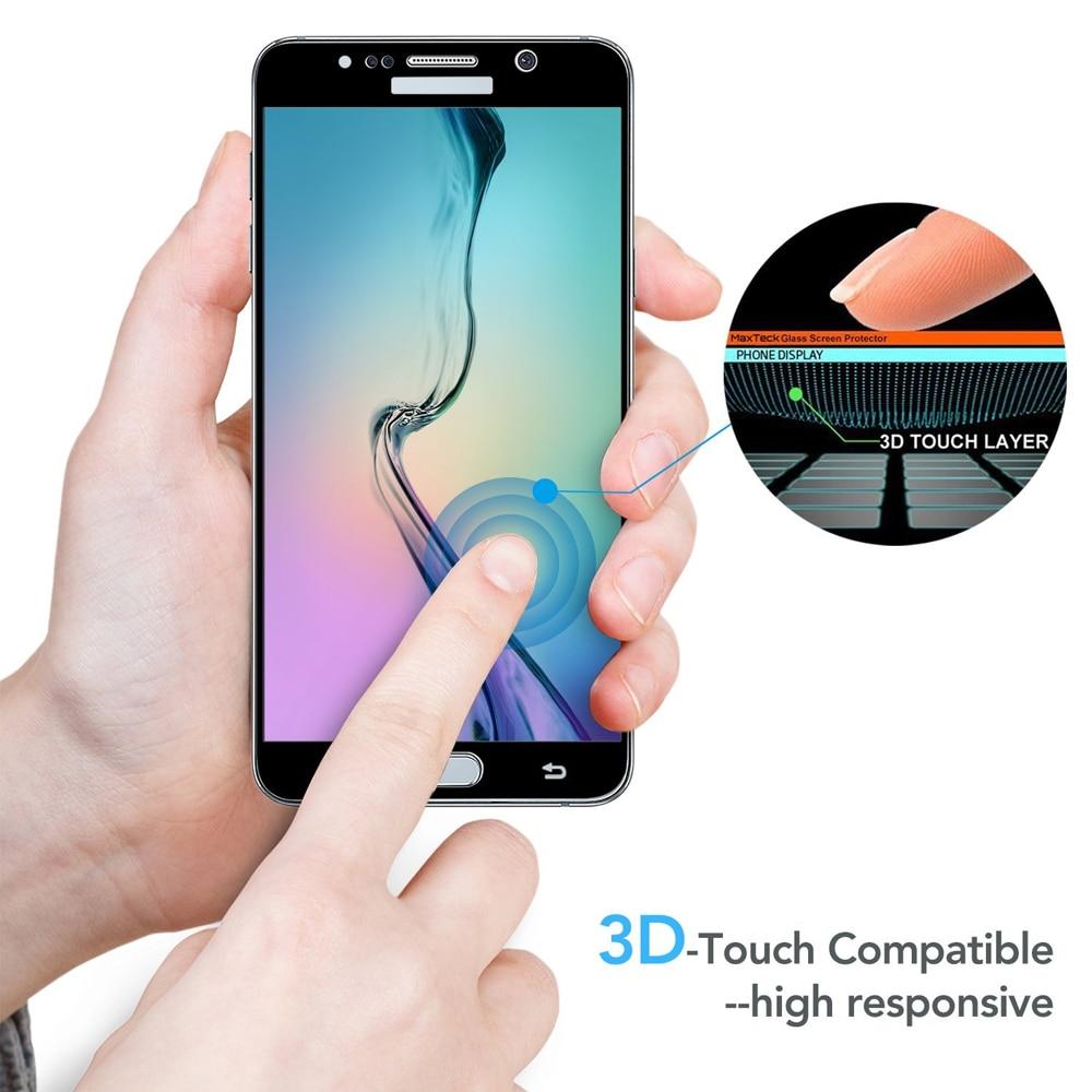 0.26MM 2.5D gücləndirilmiş ekranlı çap Samsung Galaxy S7 S6 S5 - Cib telefonu aksesuarları və hissələri - Fotoqrafiya 5