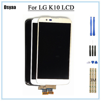 Tested 5.3inch for LG K10 LCD K410 K420 K430 Display Touch Screen Digitizer Assembly with Frame for LG K10 1280x720 Display
