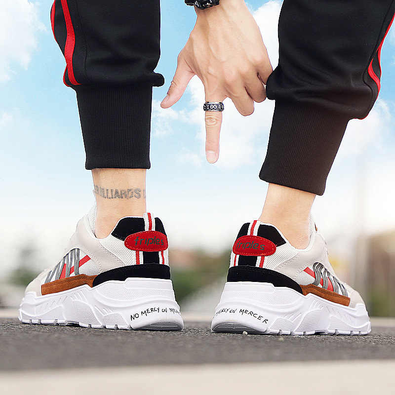 Classic Super Retro Clunky Sneaker Men Camping Running Shoes Outdoor AIR Breathable Triple S Athletic Trainer Walking Shoes