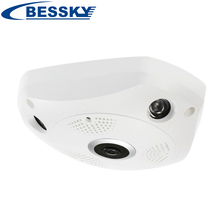 360 960P 3M 5M  IP VR Camera WiFi Network Fisheye 1.44mm 360 Wi-Fi Cameras Surveillance CCTV Cam support VR BOX