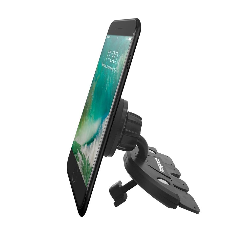 För Samsung Universal Magnetic Car Air Vent Mount CD Slot - Reservdelar och tillbehör för mobiltelefoner - Foto 6