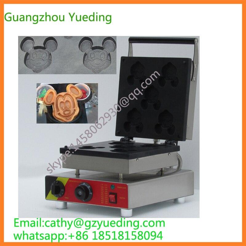 China waffle maker ,waffle baker, Mickey shape waffle maker