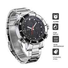 men watch quartz contracted in quartz watch stainless steel date digital led balck round big dial luminous display sport watches reef tiger rt men sports watches quartz watch with chronograph and date big dial super luminous steel designer watch rga303