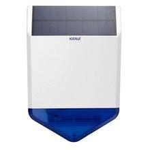 Солнечная сирена для Беспроводной системы сигнализации домашней безопасности