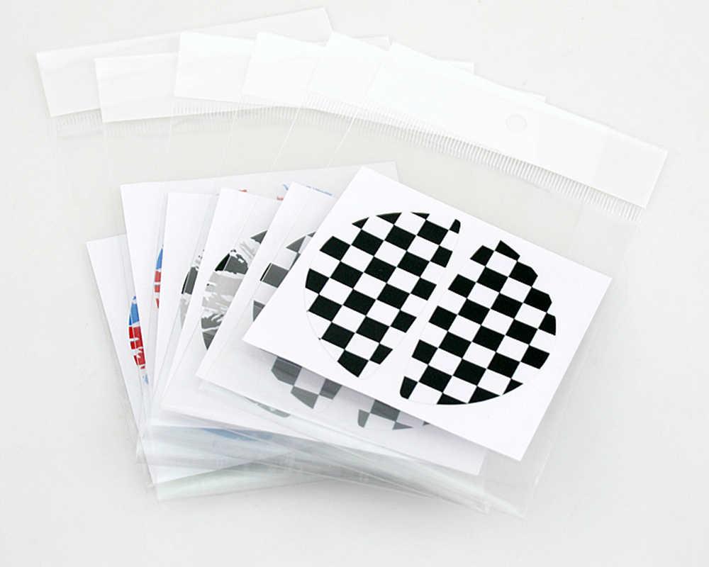 Aliauto 2 x adesivo auto All'interno maniglia sticker Per BMW MINI Countryman COOPER R50 R52 R53 R55 R56 R57 R58 R59 R60 R61 R62