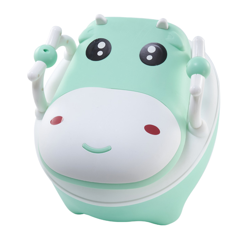 Baby Potty Toilet Training Toilet Seat Children's Pot Kids Portable Urinal Comfortable Backrest Cartoon Cute Children Pot