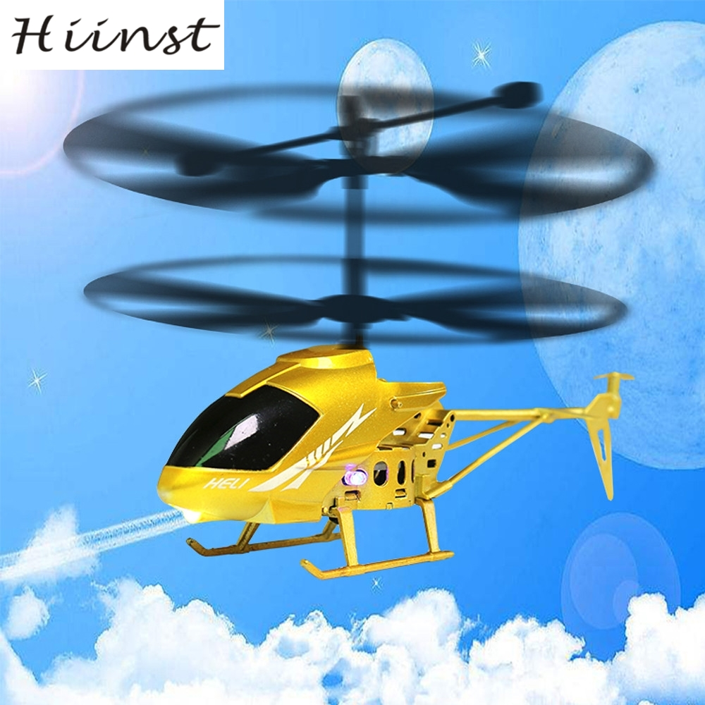 HIINST drop SHIP 2.5CH Mini RC helicopter Radio Remote Control Aircraft Micro for Kids Toys Gift AUG1540