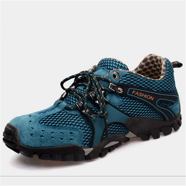 2018 new Sneakers Outdoor Hiking shoes Sport shoes men and Women Climbing Trekking Shoes Breathable non-slip Off-road