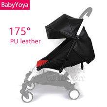 BABYYOYA 175 градусов кожаный или льняной солнцезащитный чехол и подушка для сиденья Yoya Yoyo Новое поступление цветные аксессуары для детской коляски