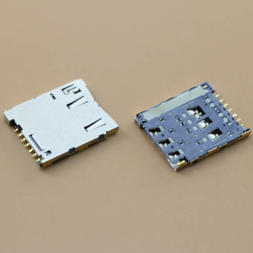YuXi New For Sony Xperia M4 Aqua E2303 E2306 E2353 Sim Card Reader Holder Tray Slot Socket