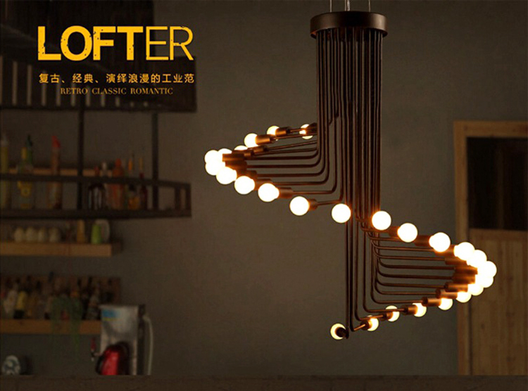 Modern Nordic Coral Polymer Loft Corridor Restaurant Cafe Bar Pendant Lamp Ceiling Light Chandelier Droplight Lighting Decor Cheap Sales Ceiling Lights & Fans