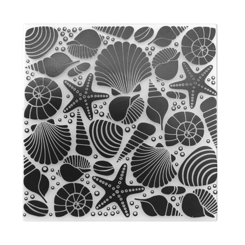 Decor Scrapbooking Stencils Template Photo Album Decoration Embossing Folder