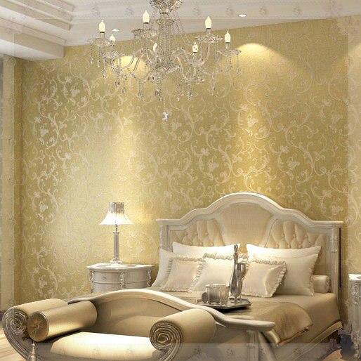 3D Wallpaper Luxury Europe Vintage For Living Room Home Decor DAMASK Floral  Wall Paper Papel De