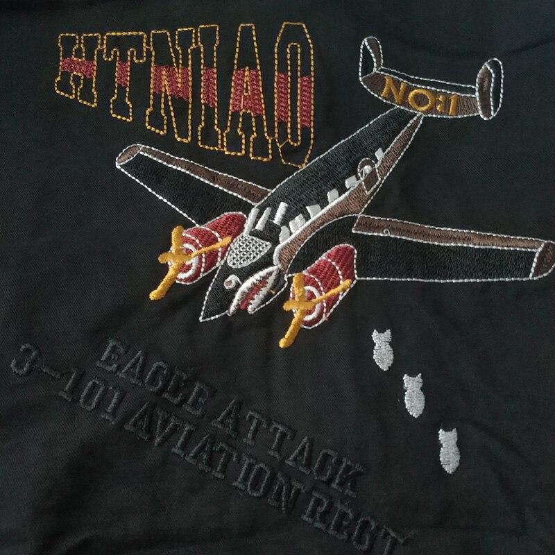 Veshja e re e xhaketave të zeza të bombave të zeza të burrave, - Veshje për meshkuj - Foto 4