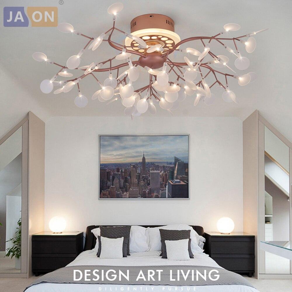LED Postmodernen Nodic Eisen Acryl Firefly Kronleuchter Beleuchtung  Led Lampe LED Ligh Für Foyer Schlafzimmer