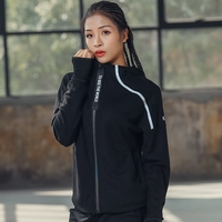 Aipbunny Casual Quick drying Winter Long Sleeve t shirt Sports Tops Fitness Running Bodybuilding T shirts Women Hiking tops