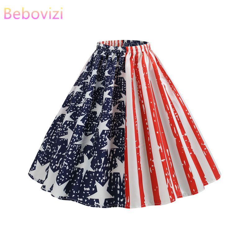 Bebovizi Faldas Mujer Moda 2019 Womens Short Skirt Plus Size Skirts Plaid Skirt Kawaii Mini Skirt