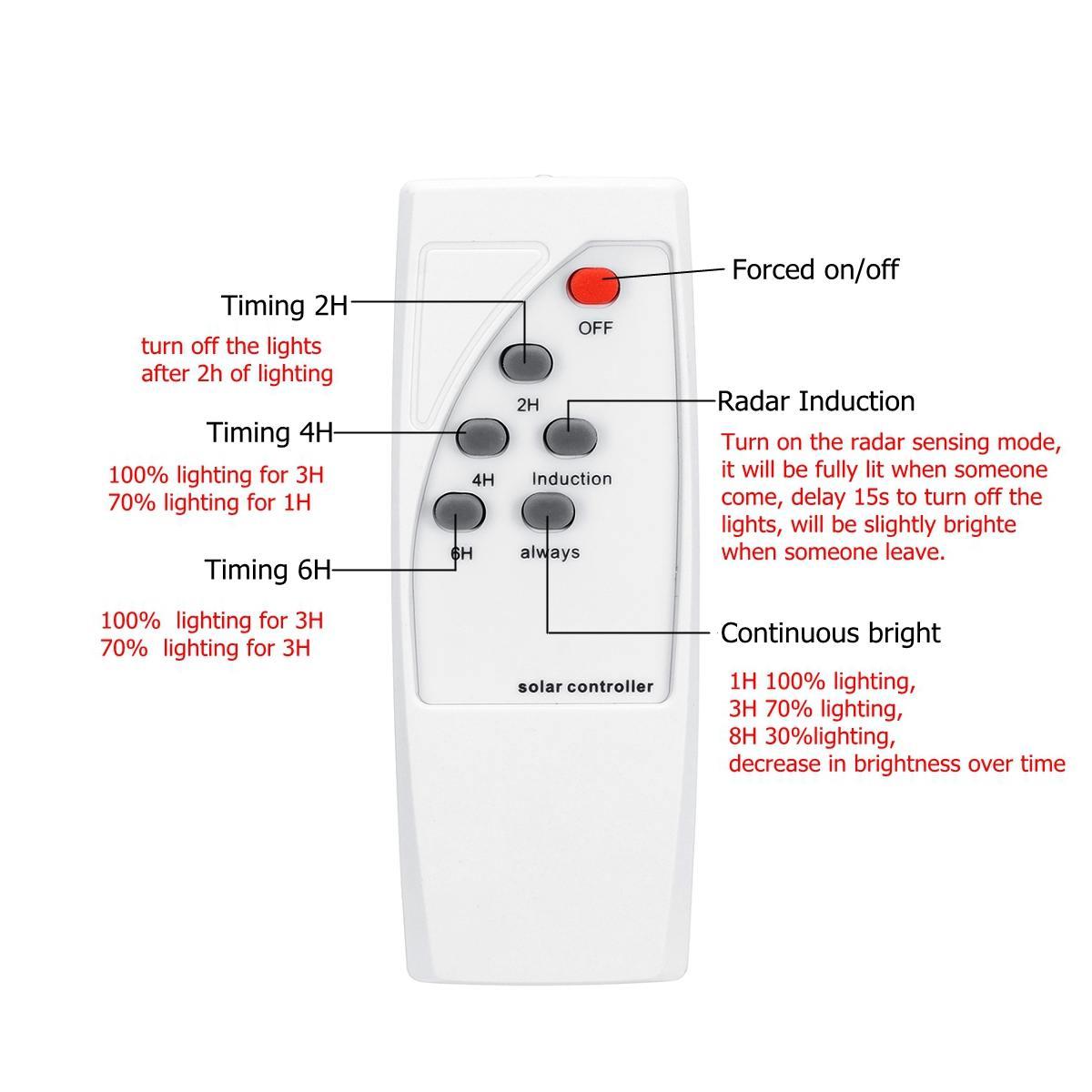 Smuxi 30000LM 120 W/240 W/360 W Solar Straße Licht 150/300/500 Grau Außen high-helligkeit Lampe Motion Sensor fernbedienung IP65