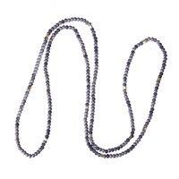C. QUAN CHI Biżuteria Proste Style 7 Kolory Dostępne Kryształ Zroszony Długi Naszyjnik Czeski Przyjaźń Naszyjnik Dla Mężczyzn i kobiety