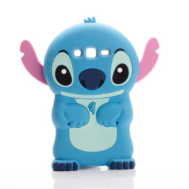 new cute 3d cartoon lilo stich soft silicone back cover case for