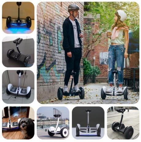 Hiçbir vergi Hoverboard 10 inç öz denge elektrikli scooter 2 - Bisiklet Sürmek - Fotoğraf 6