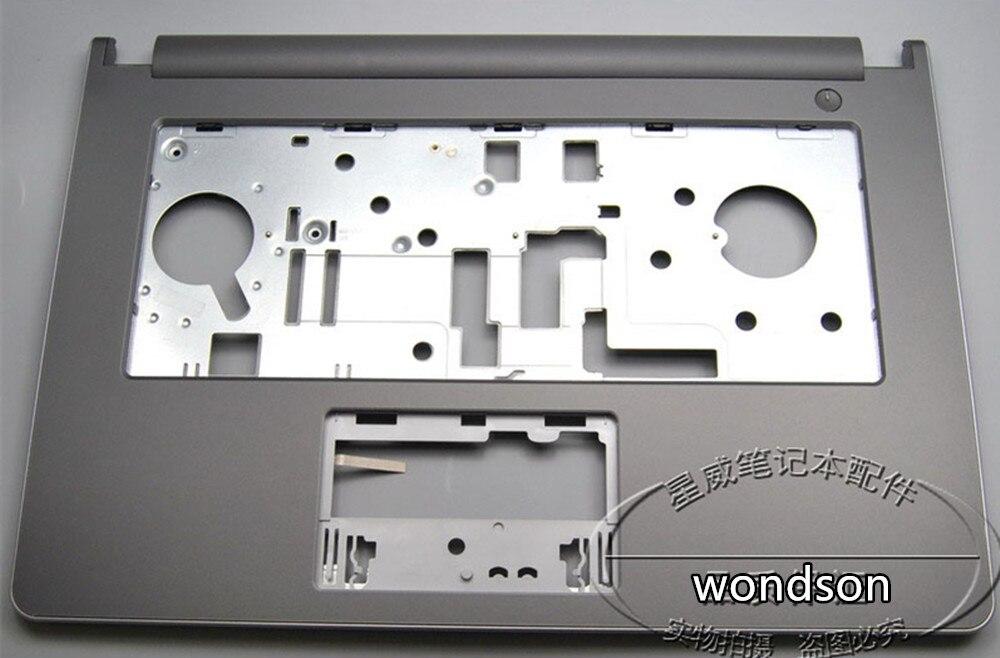 Frete Grátis Para Dell Inspiron 14-5458 5455 5459 V3458 V3459 Descanso de Mãos Touchpad Tampa Superior CN-09FC8V 9FC8V w/ 1 ano de Garantia