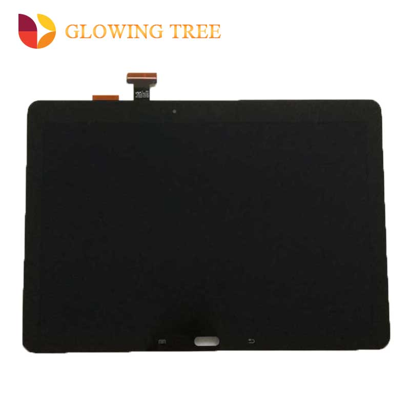 for samsung galaxy note 10 1 sm p600 p605 p6000 lcd display panel with touch screen digitizer assembly 100% new replacement Black For Samsung Galaxy Note 10.1 SM- P600 P601 P605 Touch Screen Digitizer Sensor Glass + LCD Display Panel Monitor Assembly