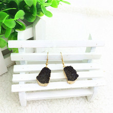 NEW Luxury Precious Crystal Fashion earrings  Pure Hand-Made Candy Designer Jewelry Earrings For Women Thick Fade Drop Earrings