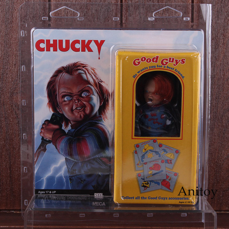 Hot Toys NECA Good Guys Childs Play Chucky PVC Action Figure Collectible Model Toy 11cm 1