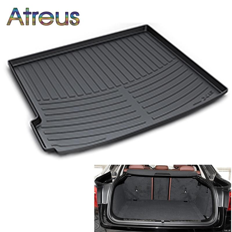 цена на Atreus Car Rear Trunk Floor Mat Durable Carpet For BMW F10 G30 F30 F01 F02 X5 E70 F15 X6 F16 E71 X1 F48 E84 X3 F25 E83 X4 F26