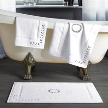 LYN&GY Floor Towel Mat Cotton Non-slip Absorbe White Coffee Doormat Rugs for Bedroom Hotel Carpets Living Room